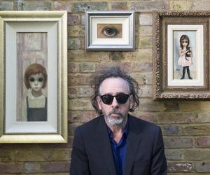 tim burton, art, and big eyes image