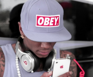 obey, swag, and soulja boy image