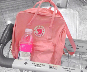 pink, bag, and grunge image