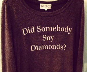 fashion, diamond, and wildfox image