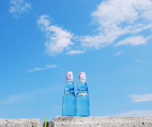 summer, blue, and sky image