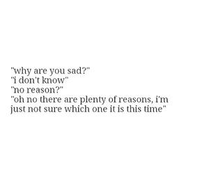 reason and sad image