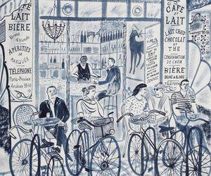 cafe and illustration image