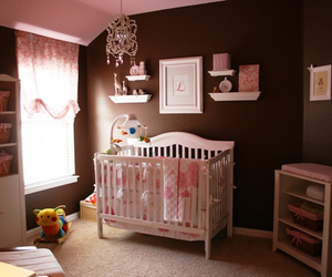 baby, interior design, and brown image