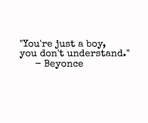 boys, logic, and quote image