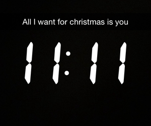 11:11, almost, and christmas image