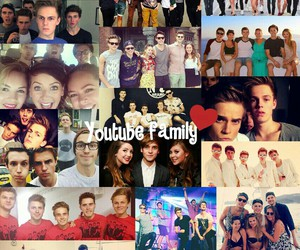 love, troyler, and youtube family image
