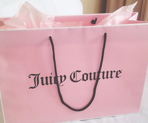 pink, juicy couture, and bag image