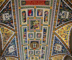 cathedral, ceiling, and italy image