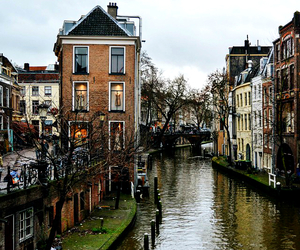 netherlands, river, and tourist image