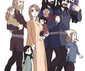 hobbit, family oc, and fili image