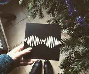 arctic monkeys, boots, and christmas image