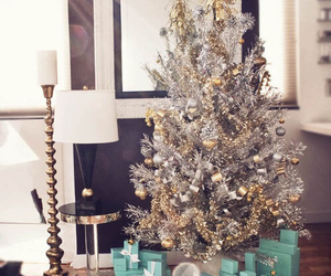 christmas, tiffany, and present image