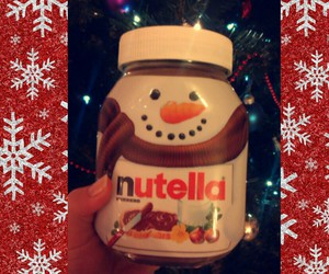 christmas, family, and nutella image