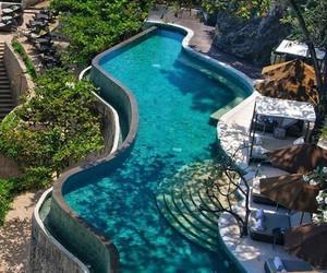 bali, hotel, and paradise image