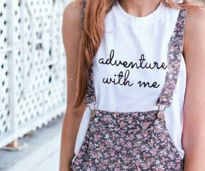 clothes, floral, and girly things image