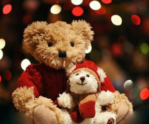 sweet, winter, and teddy image