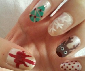 Best, christmas, and nail image