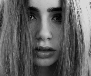 lily collins, beauty, and lily image