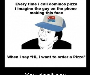 funny and order pizza image