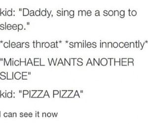 5sos, funny, and pizza image