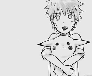 naruto, pikachu, and anime image