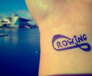 rowing, rowers, and rowi image