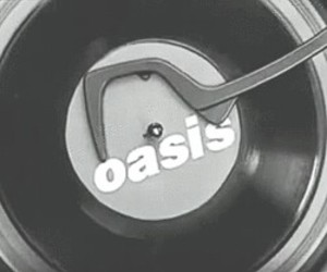 oasis, music, and vinyl image