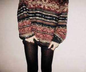 hipster, sweater, and outfit image