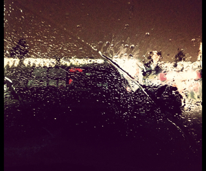 black, december, and rain image