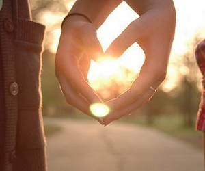 love, heart, and hands image