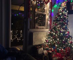 christmas, green, and christmas tree image