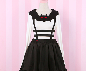 dress, emo, and gothic image