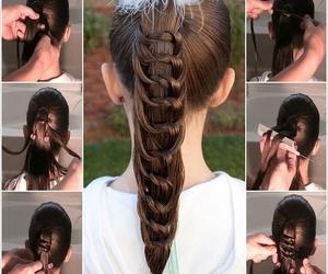 diy, hairstyles, and hair image