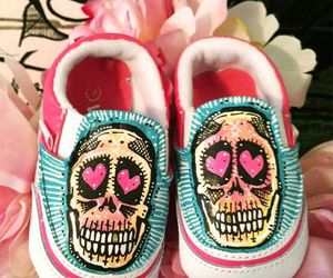art, baby, and shoes image