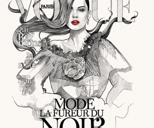 fashion, vogue, and paris image