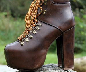 fashion, heels, and jeffery campbell image