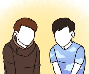 art, amazingphil, and dan and phil image