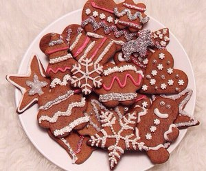 gingerbread, christmas, and dessert image