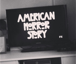 black and white, american horror story, and grunge image