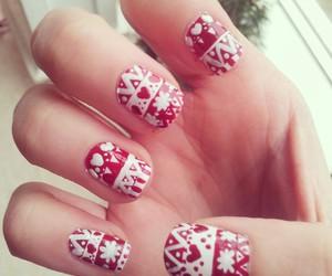 aztec, nail art, and winter image