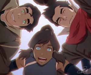 anime, mako, and azula image