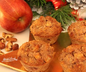 muffins, xmas, and clean eating image
