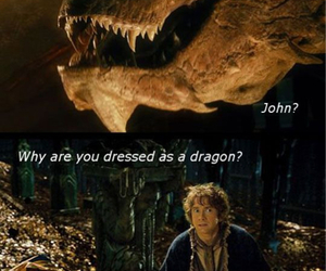 sherlock, funny, and the hobbit image