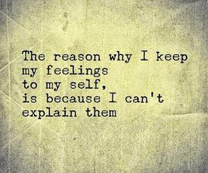 explain and feelings image