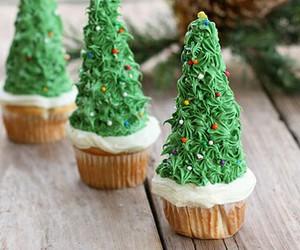 christmas, cupcakes, and diy image
