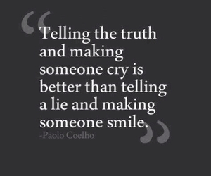 quote, truth, and lies image