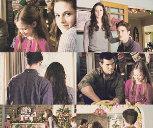 bella and edward, christmas, and edward cullen image