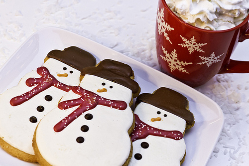 christmas, cute, and Cookies image