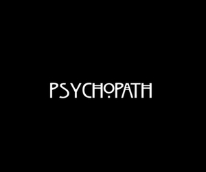 black, psychopath, and ahs image